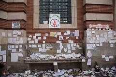"""05 - """"Je suis Paris"""" (19/11/15) (AMToulouse) Tags: toulouse placeducapitole archivesmunicipales jesuischarlie 13novembre2015 tmoignagesattentats"""