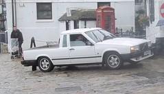 Volvo Pickup (occama) Tags: old uk car volvo cornwall 1987 1988 pickup swedish rare e266mje