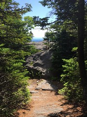 IMG_1742 (daach14@sbcglobal.net) Tags: usa vermont nature outdoor green photo trip travel sky blue woods trees forest beauty life moutain rock rocks view iphone6 panorama