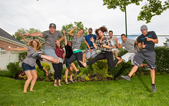 Nothing like a long weekend to get the juices flowing (Flickr_Rick) Tags: jump jumping jumpology outside summer group