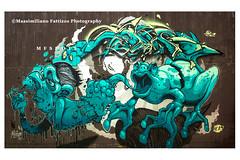 6912 (Massimiliano Fattizzo p.) Tags: street blackandwhite italy streetart milan colors graffiti colours milano colori