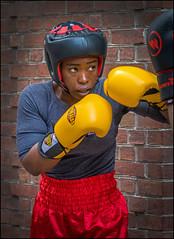 The Boxer (Rodrick Dale) Tags: portrait toronto ontario canada pride boxer boxing