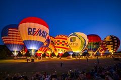 Balloon glow (Notkalvin) Tags: festival balloons evening glow outdoor balloon hotairballoon hotairballoons afterglow mikekline notkalvin notkalvinphotography
