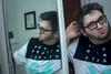 Day Seventy-Three (MBPruitt) Tags: self portrait photography bathroom mirror selfie gpoy bear cub chub