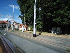 Kobylisy (gabeviela) Tags: prague praha urban city grunge eastern europe evropska kobylisy cechia czech street road tram station