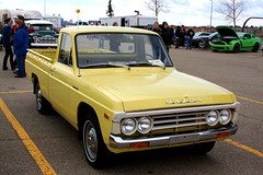 1975 Mazda B1800 pickup truck (dave_7) Tags: classic yellow truck japanese pickup 1975 mazda bseries b1800