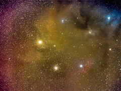 Rho Ophiuchi (Henry Weiland) Tags: canon hawaii oahu astrophotography m4 celestron milkyway dso antares c8 widefield sandysbeach ngc6144 ic4603 ic4605 canonef200mmf28l Astrometrydotnet:status=solved rhooph rhoophiuchi Astrometrydotnet:version=14400 nexguide cgemdx celestronnightscapeccd Astrometrydotnet:id=alpha20130540367970