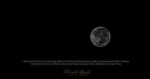 Hunger Moon [Full Moon Feb 2013]
