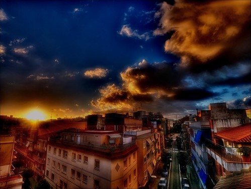 A sunrise in my city (Soft HDR)