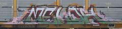 Meloh (Skyline Crony) Tags: street art bench graffiti paint tag caps piece burner bomb freight throw krylon autorack meloh rusto ironlak