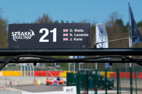 WEC Spa-Francorchamps 2013 - Strakka Racing