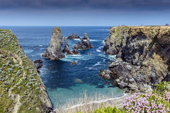 Belle Ile (marcdelfr) Tags: ocean travel lighthouse france beach landscape island brittany atlantic morbihan scenics littoral