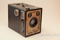 c. 1940 Agfa Ansco B-2 Shur-Shot (Canon_t2i) Tags: camera film shot box b2 agfa 1941 ansco 1935 shur