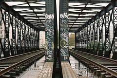 Petite Ceinture (lepublicnme) Tags: paris france analog graffiti pc kodak may rail portra argentique railtracks 160 petiteceinture c41 2013