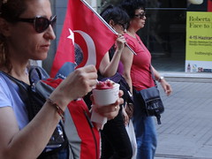 DSC06048 A chapulist cooling with ice cream (omersad) Tags: sony dschx100v cybershot sonyphotographing streets people faces candid beyoğlu chapul taksim protest istanbul urban icecream