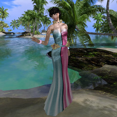 FINESMITH:BALI Gown (Rehana Seljan / MISS V Hong Kong 2013) Tags: fashion secondlife boon rehana newrelease posesion finesmith reogskin