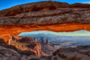 Vantage Point (Jeff Clow) Tags: morning nature landscape bravo arch canyonlandsnationalpark mesaarch moabutah tpslandscape