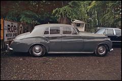 "Silver Cloud (tatraškoda) Tags: auto uk england cloud classic film car museum 35mm silver geotagged nikon automobile rollsroyce voiture cumbria oldtimer british motor analogue f5 lakeland v8 c200 fujicolor ""lake district"""