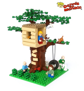 Dennis The Menace - Dennis' Treehouse
