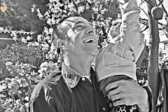 the light of life (Dimitra Kirgiannaki search engine the whole spring) Tags: life light blackandwhite man love girl monochrome smile look kids portraits children greek happy photography high hug greece tender dimitra 2013 nikond3100 kirgiannaki