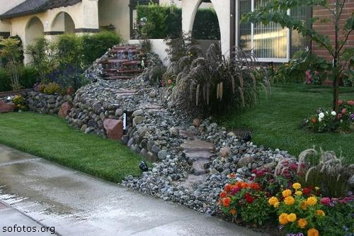 Paisagismo e jardinagem pedras