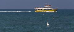 Adriatique (www.darnoc.fr) Tags: mer photoshop canon eos vacances soleil sable bateaux bleu t bateau 70300mm vagues plage italie lightroom farniente adriatique 6d 70300 ef70300mmf456isusm eos6d