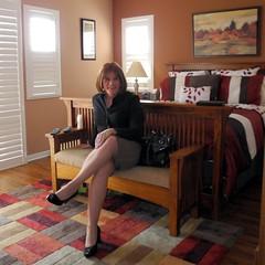Brn/blk houndstooth Pencil Skirt (krislagreen) Tags: black pumps highheels legs cd skirt hose tgirl transgender purse transvestite heels crossdresser crossdress tg patent pencilskirt xdresser