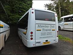 MAWLEY OAK TRAVEL YX04DLV (welshpete2007) Tags: travel mercedes oak mawley yx04dlv