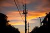 Short Walk Home (Kevin VanEmburgh Photography) Tags: street city sunset sun nikon kansascity missouri electricity setting westplaza nikond700 kevinvanemburgh