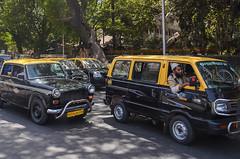 Mumbai taxis.