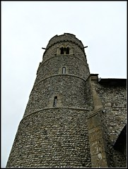 Haddiscoe - St Mary's Church (pefkosmad) Tags: church exterior norfolk roadtrip medieval norman stmaryschurch saxon roundtower haddiscoe