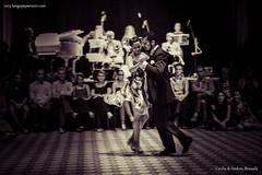 Cecilia & Andres - Demo @ Patio de Tango