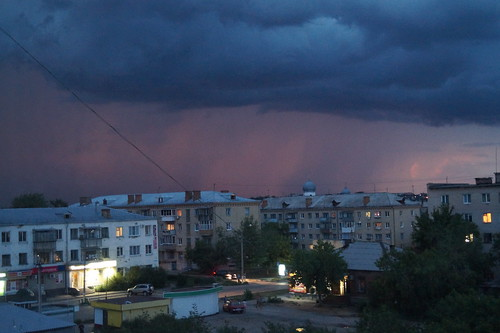 Summer storm in Troitsk.