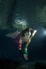 Underwater 3 (Timesniper.com) Tags: light sea colour love birdcage water girl beautiful fashion wow magazine dark hair model shoot moody underwater dress photoshoot turtle low under dive makeup floating scuba diving clothes professional manila editorial diver aqualung dslr drifting