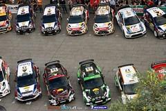 2013 WRC Rally de Espana - Start ceremony (Michelin Motorsport_Rally) Tags: auto paris france car sport spain rally motor 13 esp rallye salou motorsport 2013 wrcworldrallychampionship championnatdumondedesrallyes wrcworldchampionship
