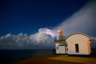 Lighthouse storm!