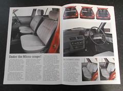 1987 Nissan Micra K10 Brochure (micrak10) Tags: nissan 1987 l brochure micra colette k10 sgl
