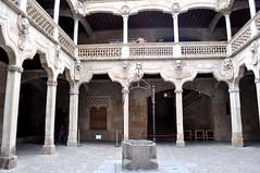 Patio de la Casa de las Conchas, Salamanca. (lumog37) Tags: architecture arquitectura courtyard palaces palacios patios