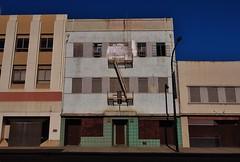 Biltmore Hotel (rickele) Tags: vacant fireescape sacramento sro downtownsacramento jstreet ghostsign biltmorehotel