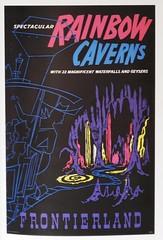 Disneyland Poster Art Rainbow Caverns 1956 - artist Bjorn Aronson (hmdavid) Tags: art illustration poster book design artist disneyland disney 1950s 1960s frontierland midcentury rainbowcaverns bjornaronson