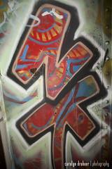 NK (carolyndrohner) Tags: graffiti nk minneapolisgraffiti scrapcans twincitiesgraffiti