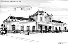 Pelotas Estrada de Ferro Estação 1900
