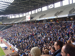 Leicester fans (lcfcian1) Tags: city uk sport 22 stadium leicester away v milton keynes matches mk dons franchise leicestercity lcfc mkdons 28209 league1 stadiummk keynesmilton donsmk mkdonsvleicestercity