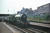 Flying Scotsman Arrives. (Kingfisher 24) Tags: station scotland fife railway a3 signal flyingscotsman inverkeithing 4472 halina35x