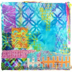 Art journal 1/2 page work in progress! Channelling my inner Mary Beth Shaw AKA StencilGirl from the webinar this past week. (Vickie @ In My Head Studios) Tags: original art collage paper print square stencil paint acrylic mixedmedia text rochester tape squareformat layers gesso resist gelpen bookpage gelli ©allrightsreserved stencilgirl inmyheadstudios iphoneography delipaper instagramapp uploaded:by=instagram createmixedmedia