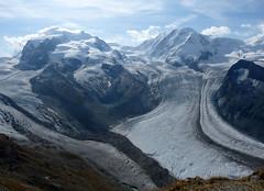 glacier- another view (Franziska`s photo art) Tags: monterosa dufourspitze lyskamm