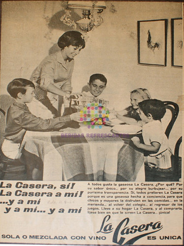 """La Casera. """"¡Es única!"""". 1958"""