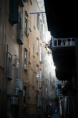The perfect way you are (cuky1984) Tags: light alley great napoli naples vicolo {vision}:{text}=0613 {vision}:{outdoor}=0831
