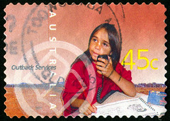 Australia 0370 m (roook76) Tags: 2001 old people baby cute girl beautiful face childhood female youth vintage hair person kid ancient pretty child message mail little postcard small daughter young australia historic retro stamp seal envelope attractive letter aged postmark philately caucasian