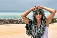 Garota de Ipanema (jfraile (OFF/ON slowly)) Tags: sea brazil brasil natal mar sand retrato maria dunes arena dunas mygearandme mygearandmepremium mygearandmebronze jfraile javierfaile